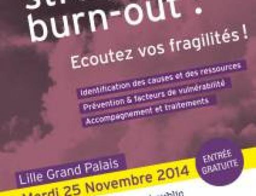Conférence Lille Grand Palais : mal-être, stress burn-out