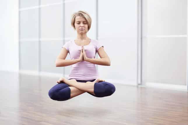Position pour méditer