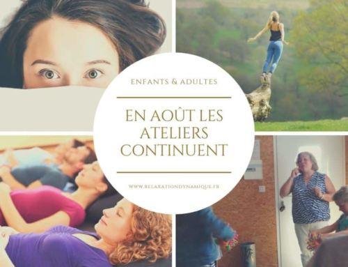 La Couture : les ateliers sophrologie et méditation continuent en août.