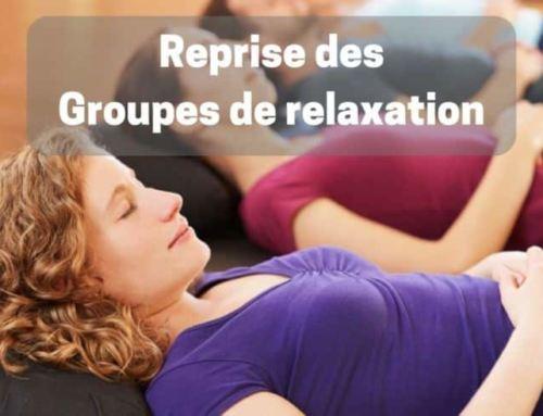 Groupes de relaxation – C'est la reprise pour la saison 2019 – 2020