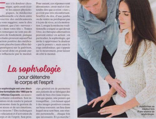 Dans la presse : sophrologie et douleurs – Maxi Mag